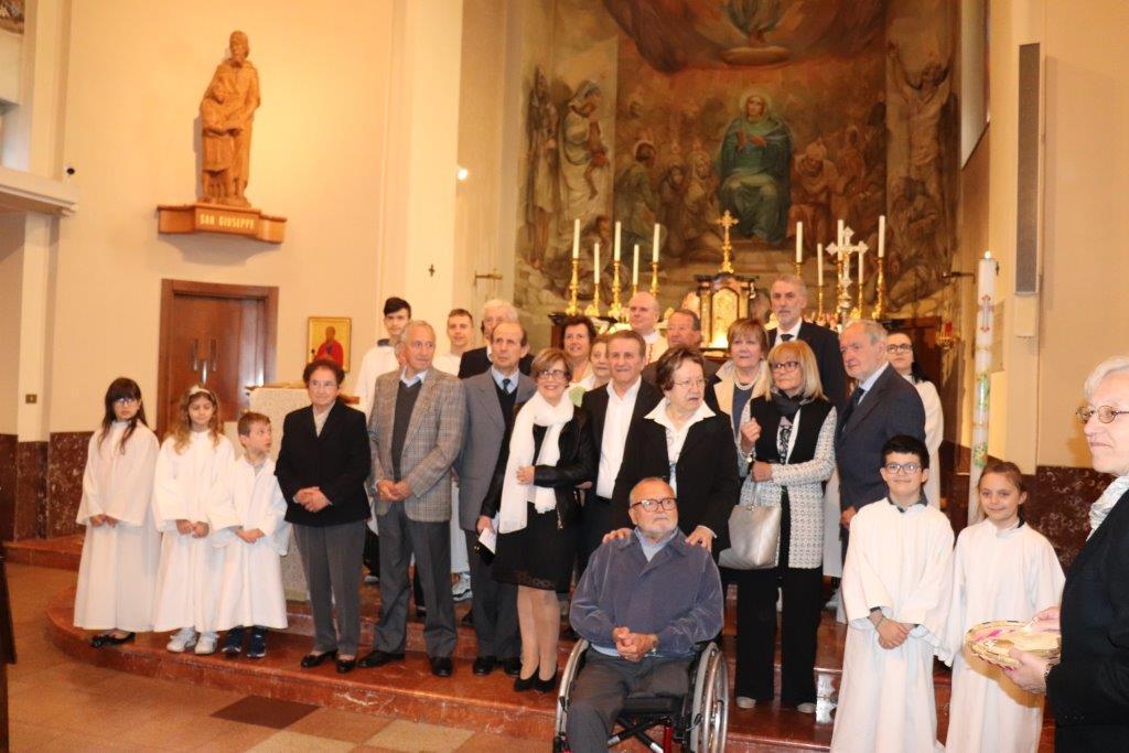 Anniversario Di Matrimonio Liturgia.Festa Degli Anniversari Di Matrimonio Parrocchia S Stefano In